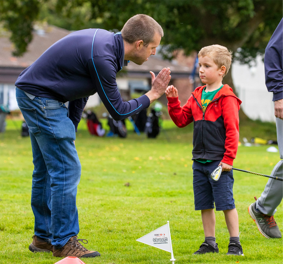 Learn to Golf Benefits to Parents